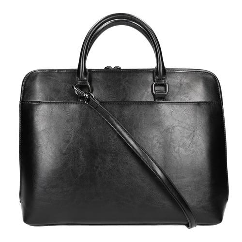 Elegante borsa a mano bata, nero, 961-6882 - 19
