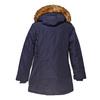 Parka donna con cappuccio e eco-fur bata, blu, 979-9648 - 26