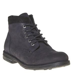 Scarpe da uomo in pelle sopra la caviglia bata, nero, 896-6704 - 13