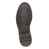 Scarpe di pelle alla caviglia bata, marrone, 894-4561 - 26