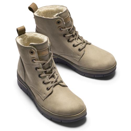 Scarpe alla caviglia con isolamento termico weinbrenner, grigio, 596-2108 - 15