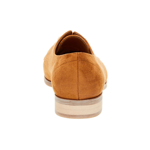 Scarpe basse da donna in stile Derby bata, marrone, 529-3492 - 17