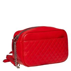 Borsetta rossa a tracolla bata, rosso, 961-5158 - 13