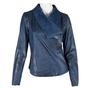 Giacca blu primaverile bata, viola, 979-9635 - 13