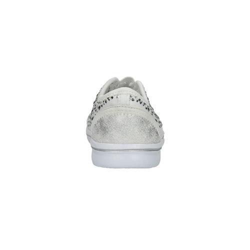 Sneakers da ragazza con strass mini-b, bianco, 329-1203 - 17