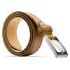 Cintura classica in pelle bata, marrone, 954-3828 - 26