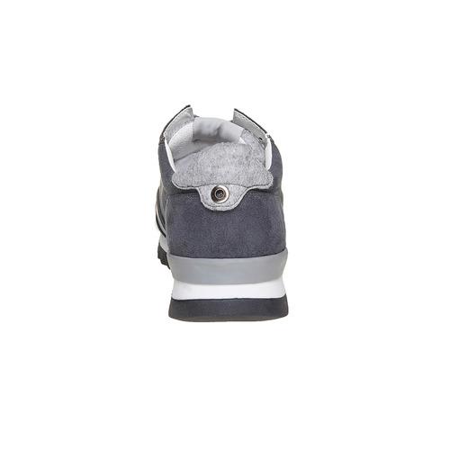 Sneakers da uomo con suola appariscente north-star, grigio, 849-2500 - 17