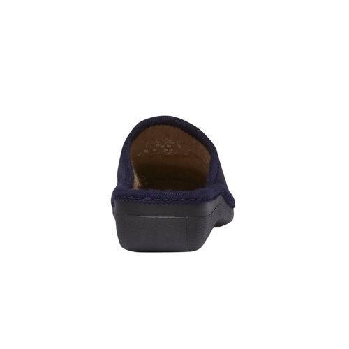 Pantofole da donna bata, viola, 579-9233 - 17
