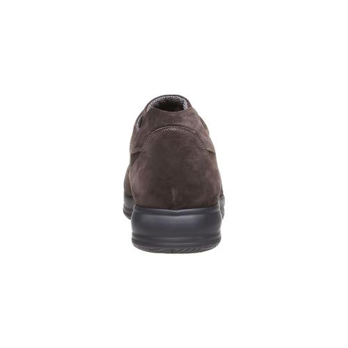 Sneakers di pelle bata, marrone, 843-4315 - 17