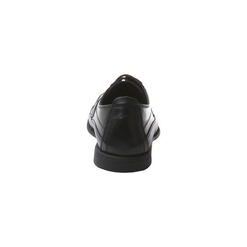scarpa in pelle da uomo bata-comfit, nero, 854-6836 - 17