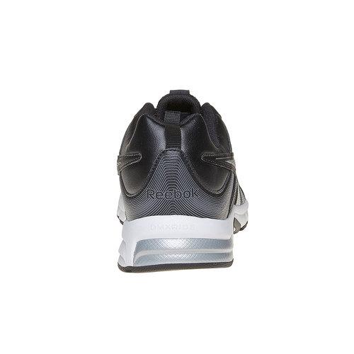 Sneakers sportive da uomo reebok, nero, 801-6166 - 17