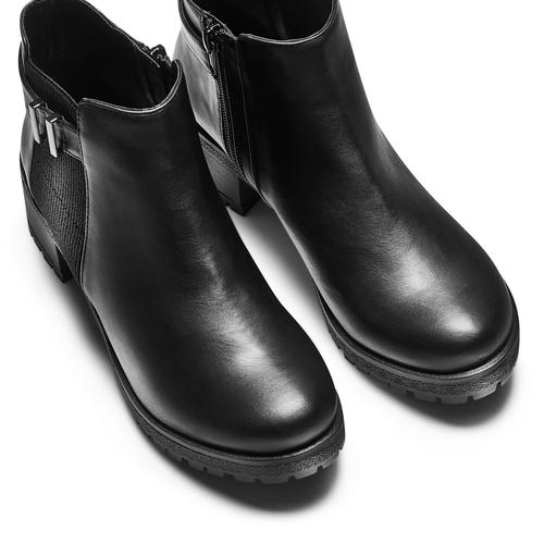 Stivaletti casual da donna bata, nero, 691-6150 - 17
