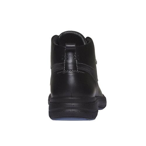Scarpe di pelle alla caviglia bata, nero, 894-6226 - 17
