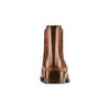 Scarpe di pelle in stile Chelsea bata, marrone, 594-4448 - 15