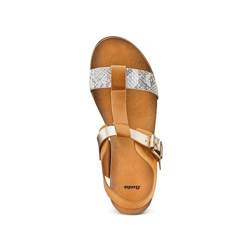 Sandali da donna bata, marrone, 561-8295 - 17