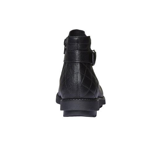 Scarpe alla caviglia con cuciture flexible, nero, 594-6229 - 17