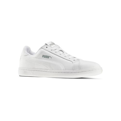 Sneakers da donna di pelle puma, bianco, 504-1110 - 13