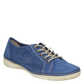 Sneakers di pelle weinbrenner, blu, 546-9238 - 13