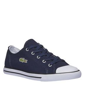 Sneakers in tessuto lacoste, viola, 589-9299 - 13