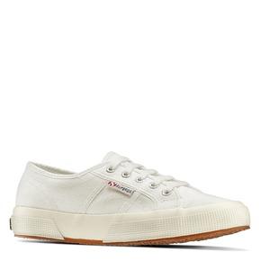 Sneakers di tela informali superga, bianco, 589-1187 - 13