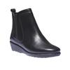 Scarpe da donna in pelle alla caviglia sundrops, nero, 594-6505 - 13