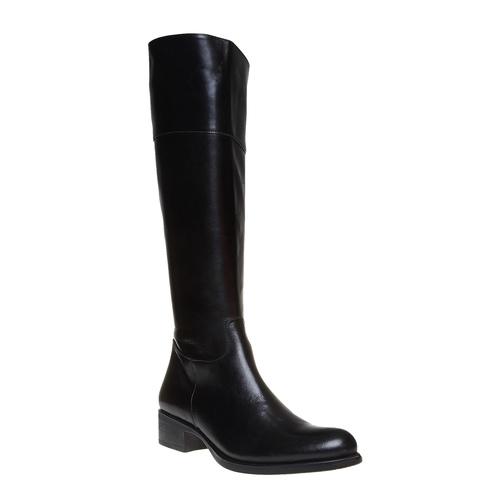 Stivali di pelle bata, nero, 594-6223 - 13