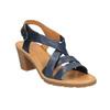 Sandali da donna in pelle flexible, viola, 764-9538 - 13