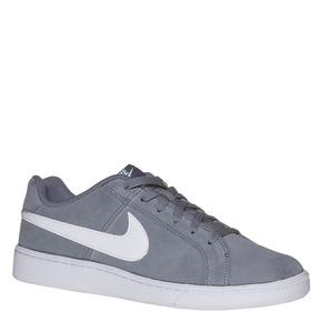 Sneakers da uomo in pelle nike, grigio, 803-2148 - 13