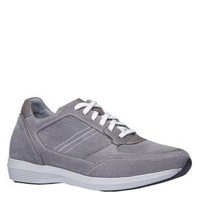 Sneakers da uomo in pelle bata, grigio, 843-2645 - 13