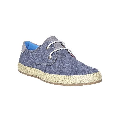 Sneakers informali da uomo bata, blu, 849-9668 - 13