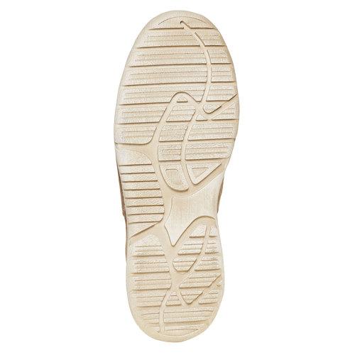 Scarpe basse informali di pelle weinbrenner, marrone, 846-4657 - 26