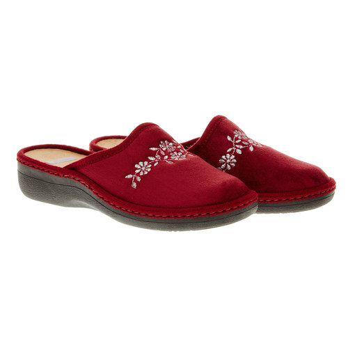Pantofole da donna bata, rosso, 579-5233 - 26