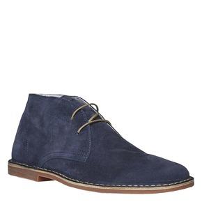 Scarpe scamosciate in stile Desert bata, blu, 843-9267 - 13