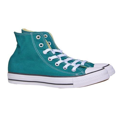 Sneakers da donna alla caviglia converse, verde, 589-9378 - 26