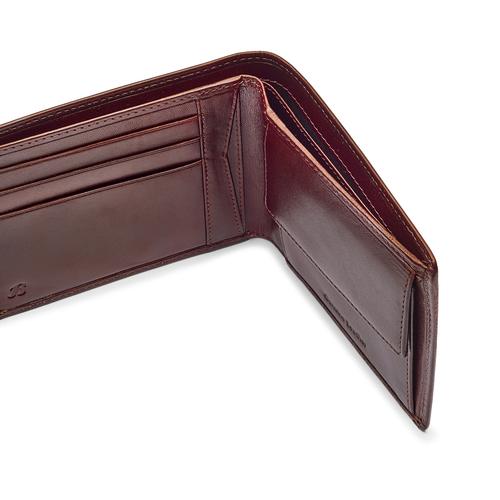 Portafoglio da uomo in pelle bata, marrone, 944-4122 - 15