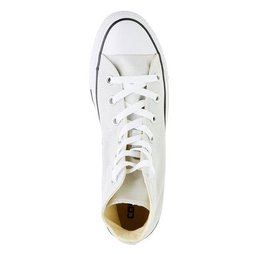 Sneakers da donna alla caviglia converse, bianco, 589-1178 - 19