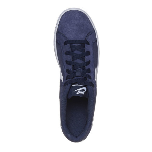 Sneakers da uomo in pelle nike, blu, 803-9148 - 19