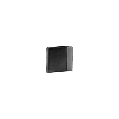 Portafoglio da uomo in pelle bata, nero, 944-6151 - 13
