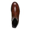Chelsea di pelle bata, marrone, 594-4124 - 19