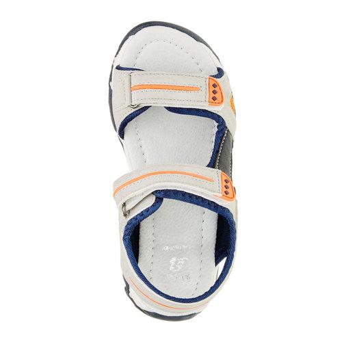 Sandali da bambino mini-b, grigio, 361-2181 - 19