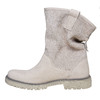 Scarpe di pelle alla caviglia weinbrenner, beige, 596-8405 - 19