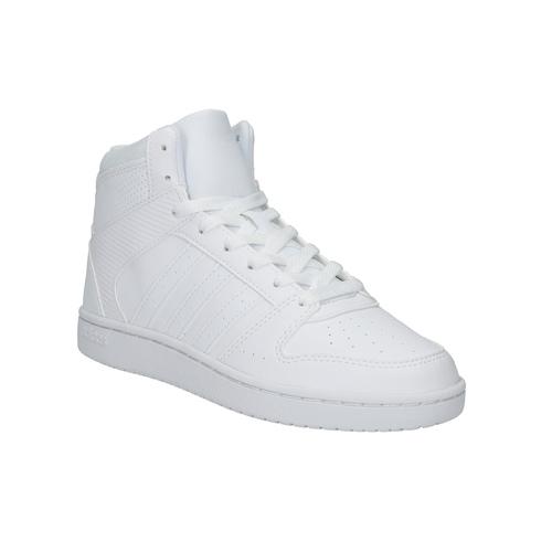 Sneakers bianche sopra la caviglia adidas, bianco, 501-1741 - 13