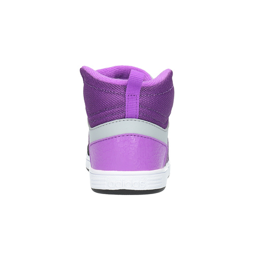 Sneakers da bambina alla caviglia adidas, grigio, 101-2231 - 17
