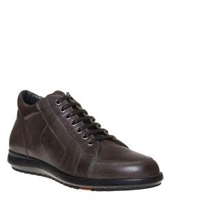 Sneakers da uomo con suola strutturata. flexible, marrone, 844-2205 - 13
