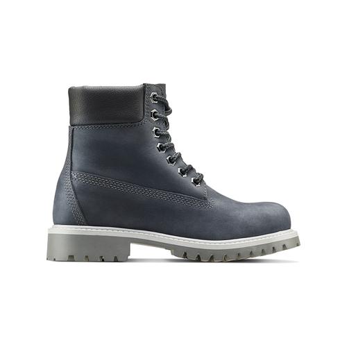 Scarpe invernali da bambino sopra la caviglia weinbrenner-junior, blu, 396-9263 - 26