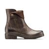Scarpe di pelle alla caviglia weinbrenner, marrone, 594-4874 - 26