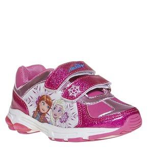 Sneakers da ragazza con glitter, rosso, 221-5172 - 13