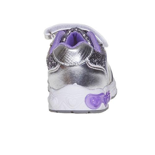 Sneakers da bambino con glitter, grigio, 229-2171 - 17