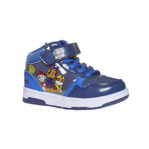 Sneakers da bambino alla caviglia, blu, 211-9164 - 13