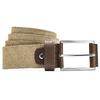Cintura in pelle bata, beige, 956-8100 - 13
